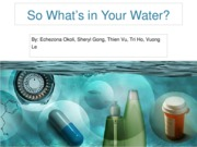 G1 - Presentation - Pharmaceutical in Water (For Printing)