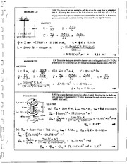 193_Mechanics Homework Mechanics of Materials Solution