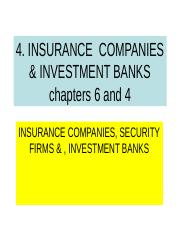 INSURANCE Companies AND  IB.ppt