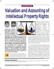 Valuation and Accounting of Intellectual Property Rights.pdf