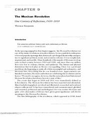 Benjamin_The Mexican Revolution One Century of Reflections.pdf