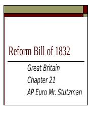 Stutzman_AP_Euro_Reform_Bill_of_1832.pptx