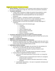 Health Care Econ Study Guide Chapter 10