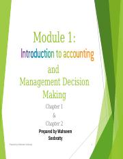 Module 1 - Introduction and Management Decision Making(1).ppt