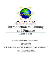 A commercial bank is a financial institution which performs the functions of accepting deposits from