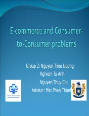 E-commerce and Consumer-to-Consumer problems (completed version).ppt
