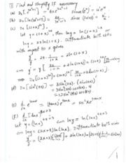 MATH142_FINAL EXAM REVIEW SOLUTION_2008