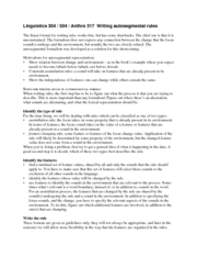 handout autosegmental rules 1 SAMPA