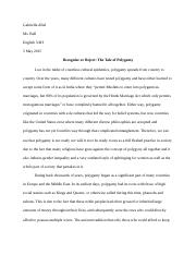 Research Paper (Polygamy