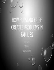 How substance use creates problems in families Team A (1).pptx