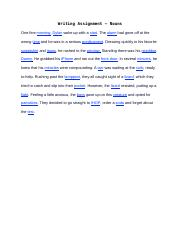 Writing Assignments - Ideas.docx