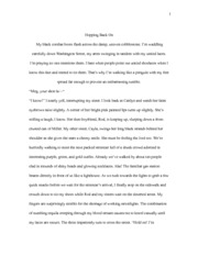 Writing Creative Nonfiction Essay