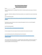 Types of Chemical Reactions Webquest.docx