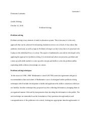 Article on Problem solving 2.docx