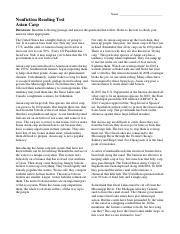 nonfiction-reading-test-asian-carp - Name Nonfiction ...