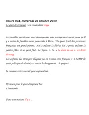 cours #24