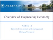 Engineering Economy 00 Overview of Engineering Economy