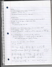 "P.3 ""Section of Formulas"" Mean, Variance, Standard Deviation Notes Page 2"