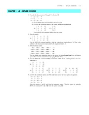 Elementary Linear Algebra 6e - Larson, Edwards, Falvo - Chapter 1 MATLAB - Systems of Linear Equatio