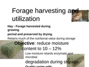 (337666684) Lecture 6 and 7 Harvesting  Preservation