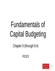 Chapter 9 - Capital Budgeting.pptx