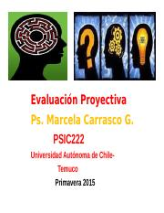 clase proyectiva.ppt