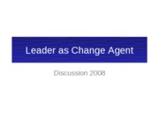 Leader as Change Agent Bbd Version FINAL