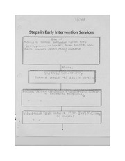 Steps in Early Intervention Services Notes EDU 208