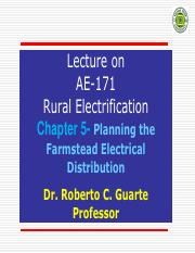 Chapter 5 - Planning the Farmstead Distribution - Copy