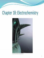 Lecture 13 Electrochemistry(1)