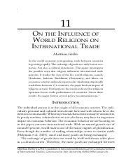 Influence of Scripture on International Trade.pdf