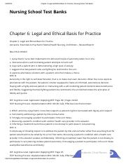 06.Chapter 6_ Legal and Ethical Basis for Practice _ Nursing School Test Banks.pdf