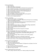 study guide SOCI QUESTIONS