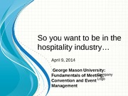 Tour 220 Intro to Event Management Lecture on Meeting_Planner