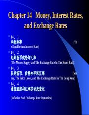 Chapter-14-Money-Interest-Rate-and-Exchange-Rate