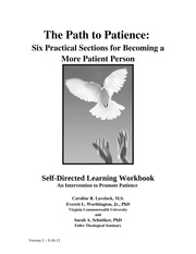 Patience Intervention Workbook Beta with SONA Upload Complete