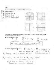 Exam 3B Solution Spring 2005 on Calculus and Analytic Geometry IV