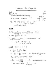 EE 2EI4 Chapter 13 Homework Exercises Solutions
