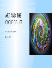 CH Art and the cycle of life