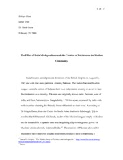 hist essay social injustice on sugar plantations robyn clost 7 pages hist1505 essay the effect of s independence and the creation of on the muslim communi
