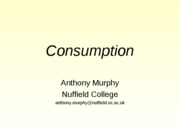 Revised Consumption