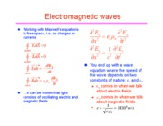 electromagnetic waves 2