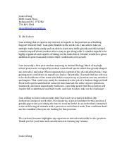 Jessica Hong Cover Letter- Student Support Staff