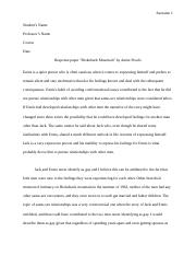 Response paper Brokeback Mountain by Annie Proulx.edited.docx