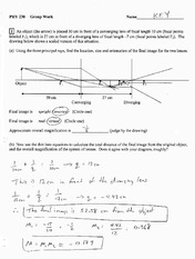 Chapter 36 Group Work 8 Solution