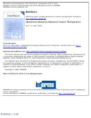 Operations Research Advances Cancer Therapies.pdf