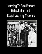 Personality_Lecture9_behaviorism & social learning_Spring2016.ppt