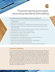 Chapter 6 Financial Reporting Principles, Accounting Standards and Auditing  (pp.  289-344)