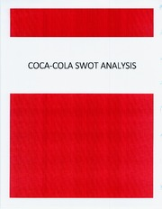 Coco Cola SWOT Analysis
