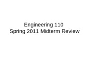 Midterm_Review - Eng 110 S11